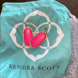 Kendra Scott Hot Pink Elle Earrings